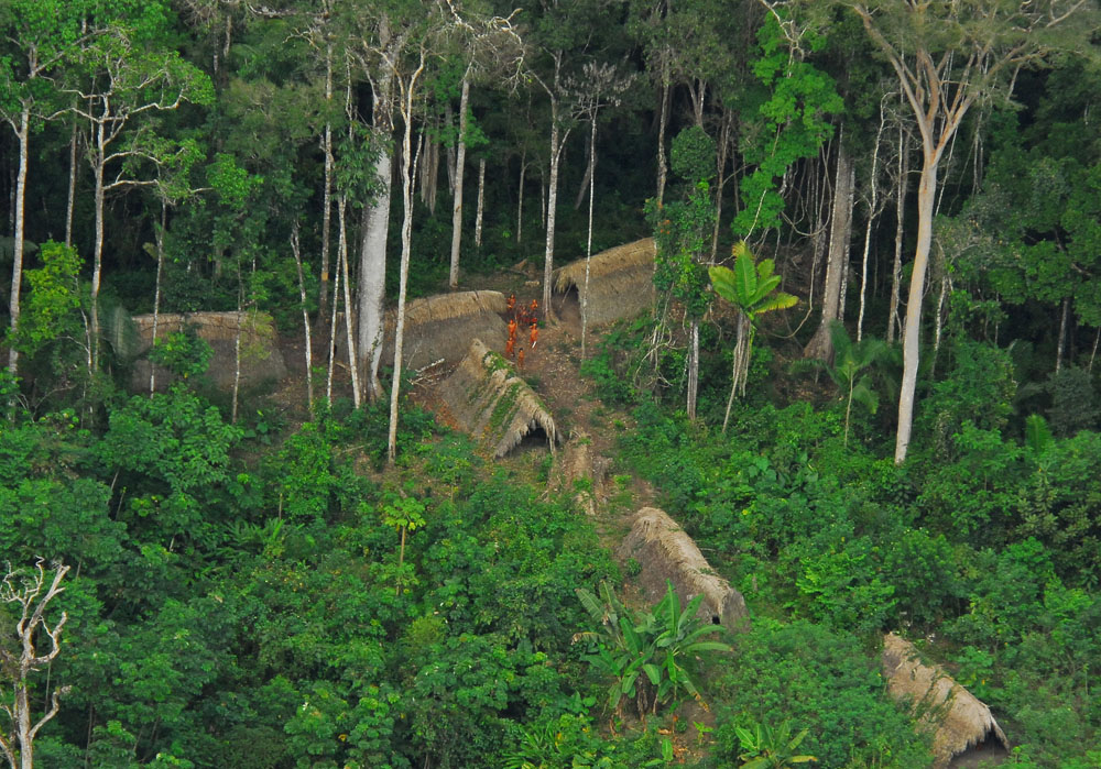 Uncontacted indigenous tribe in the Brazilian state of Acre.